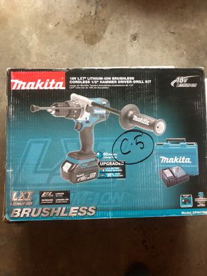 Makita XPH07MB 18V LXT BL Hammer Drill Kit BRAND NEW for Sale in Bellevue, WA