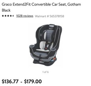 Graco Extend2Fit Convertible Car Seat for Sale in Sunland Park, NM