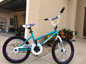 Fairly new, manga children bike used one or twice. for Sale in Poinciana, FL