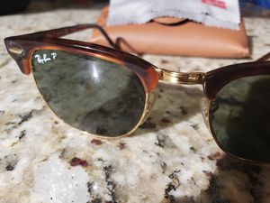 Ray-Ban Clubmaster Classic polarized sunglasses for Sale in Scottsdale, AZ