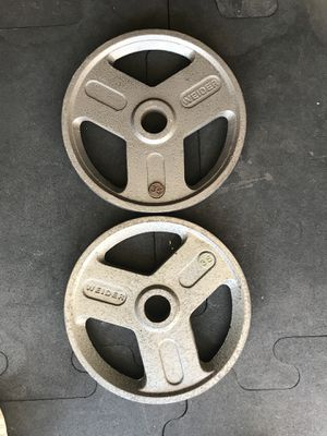 Olympic weights (2x35s) for $45 Firm!!! for Sale in Burbank, CA