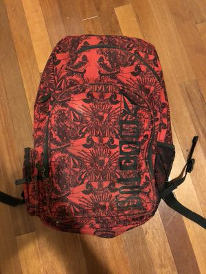 Red and Black Volcom Backpack for Sale in Orlando, FL