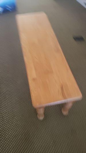 Oak bench table for Sale in St. Pete Beach, FL