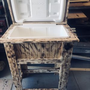 Wood Cooler For Christmas gift for Sale in Perris, CA