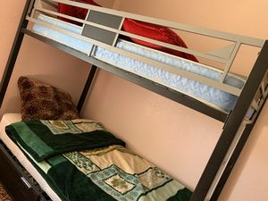 Metal Bunk Bed for sale for Sale in Yuba City, CA