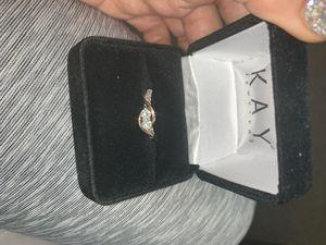 14 k diamond ring for Sale in Detroit, MI