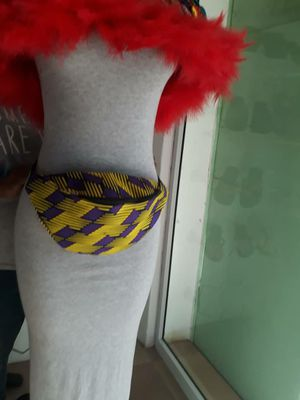 High quality African waist bags - available in different colors and shapes to choose from for Sale in Baltimore, MD