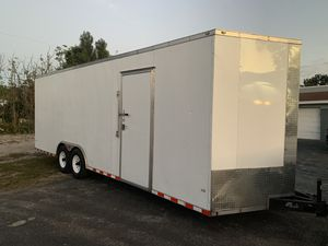 2017-8 X 24+ V NOSE X 7 ENCLOSED TRAILER for Sale in Lake Worth, FL