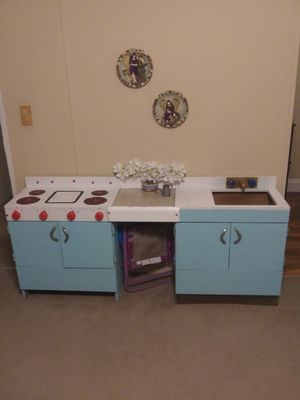 Wooden kitchen play area for Sale in Hazlehurst, GA