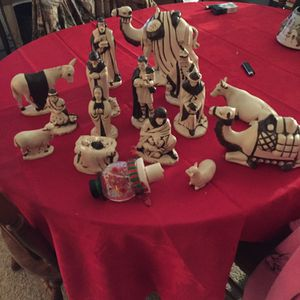 Full nativity scene for Sale in Crewe, VA
