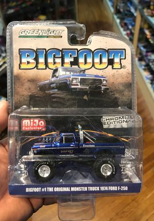 Greenlight big foot 1:64 scale diecast collectible for Sale in Industry, CA