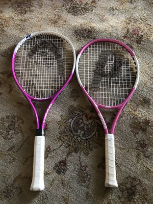 Tennis rackets for $15 Firm!!! for Sale in Burbank, CA