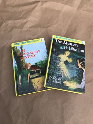 Two Nancy Drew Books - books 3 and 4 for Sale in Tacoma, WA