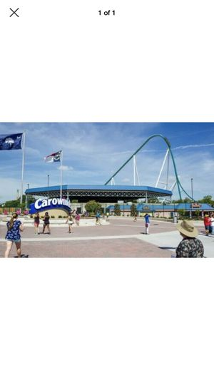 5 Carowinds Tickets For $30 Each or $150 all together for Sale in Charlotte, NC