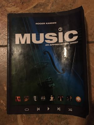 Music an Appreciation Roger Kamien for Sale in Palmdale, CA