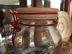 Large Pillsbury doughboy canning jars for Sale in Lake Wales, FL