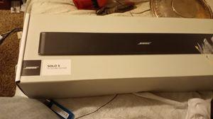 Bose solo 5 sound bar for Sale in Auburn, WA