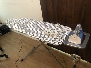 Iron (Viasonic) with Ironing board (IKEA) used only few times for Sale in Grandview Heights, OH