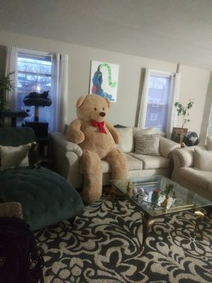 6ft tan stuffed teddy bear for Sale in Maplewood, NJ