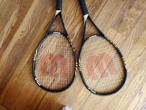 Wilson BLX pro tennis rackets, like new for Sale in Hillsboro, OR