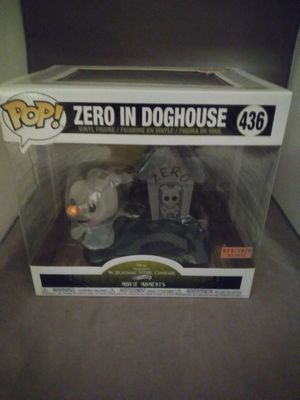 Retired Funko Pop Nightmare Before Christmas Zero In Doghouse Box Lunch Exclusive for Sale in Irvine, CA