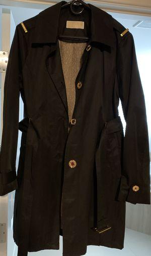 Michael Michael Kors Women's Black Belted Trench Coat Jacket size M for Sale in Auburn, WA