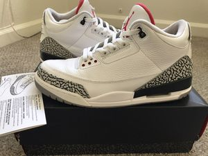 Air Jordan 3 'White Cement 88' 2013 Sz. 11 for Sale in Anaheim, CA