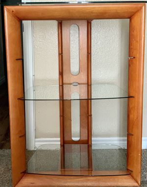 Wooden/Glass Console Table for Sale in Escondido, CA
