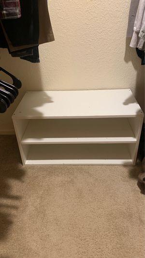 White shoe rack for Sale in Phoenix, AZ