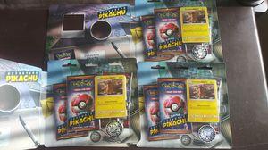 Pokemon detective pikachu lot of 3 for Sale in Hemet, CA