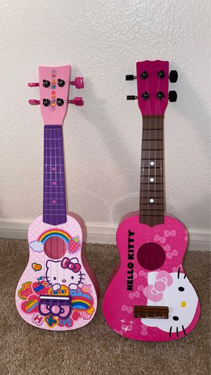 Hello kitty guitars for Sale in San Marcos, CA