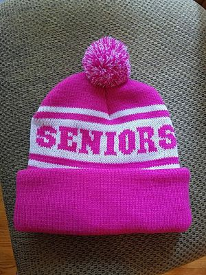 Pink and white knit hat for Sale in Vancouver, WA