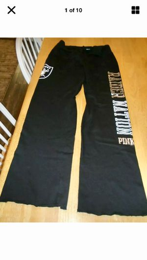 New Victoria's Secret nfl raiders m for Sale in Los Angeles, CA
