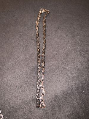 RCI STAINLESS STEEL JTC CHAIN AND BRACELET for Sale in Brooklyn, NY