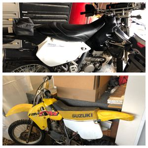 2 Suzuki motorcycles for the price of 1 for Sale in Madera, CA