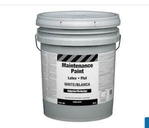5 gallon white paint for Sale in Hialeah, FL