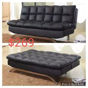 Futon sofa sleeper new for Sale in Corona, CA