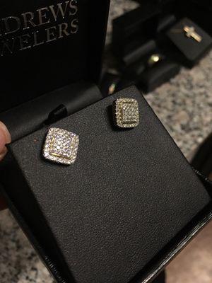 1CTW Diamond Earings for Sale in Austin, TX