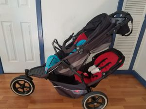 Double stroller with infant seat attached option for Sale in Daly City, CA