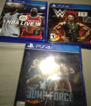 Ps4 games for Sale in Washington, DC