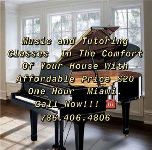 MUSIC AND TUTORING CLASSES for Sale in Miami, FL