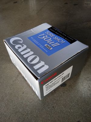 NEW-IN-BOX Vintage Canon Sure Shot 130u2 Camera Outfit for Sale in Chino, CA