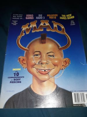 Mad oct/nov. 1995 #340 for Sale in Phoenix, AZ