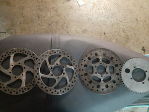 Minibike atv go kart brake disc and sprocket for Sale in Chandler, AZ