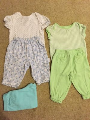 9 mo onesies and pants for Sale in Litchfield Park, AZ