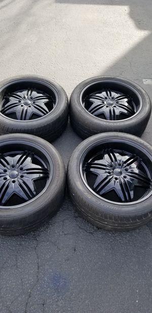 "22"" inch Black Wheels rims for Sale in Federal Way, WA"