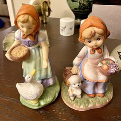 Vintage Porcelain Hand painted Figurines Maidens for Sale in Calabasas,  CA