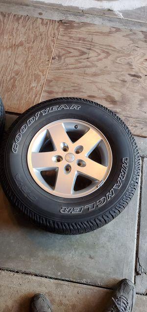 Jeep wheels/tires for Sale in Burlington, NJ