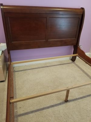 Queen sleigh bed frame for Sale in Veradale, WA