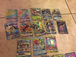 Pokémon 2rainbows, 2tagteams,1mega,8gx,5ex, and 20 other cards for Sale in Belleair, FL